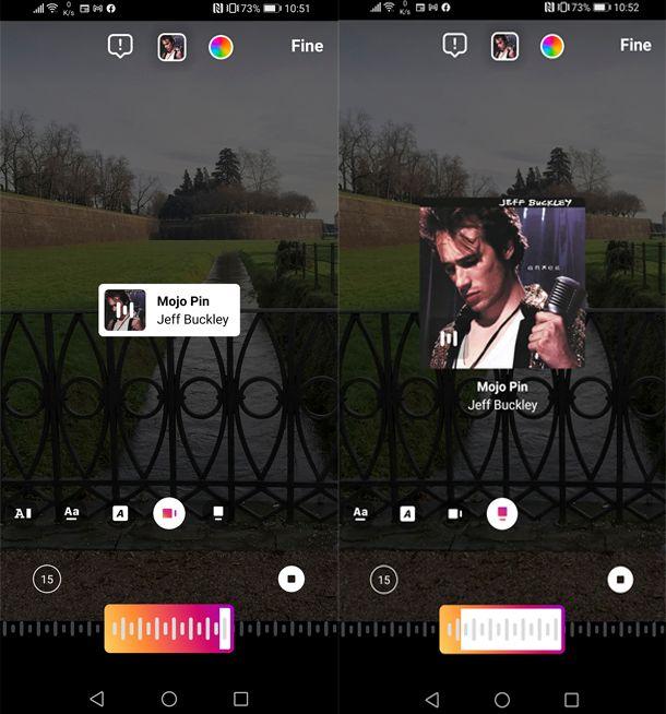 Come mettere la musica su Instagram senza icona