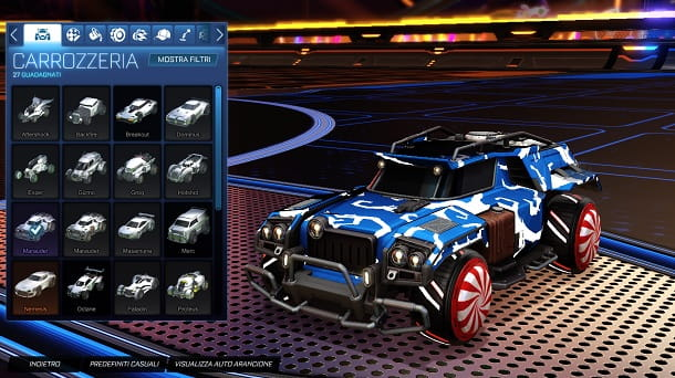Marauder Rocket League