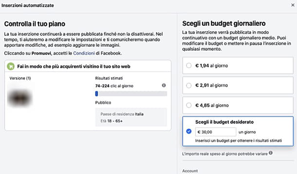 Come funziona Facebook Ads inserzioni automatizzate