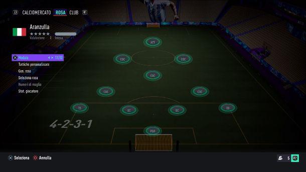 FIFA 21 4-2-3-1