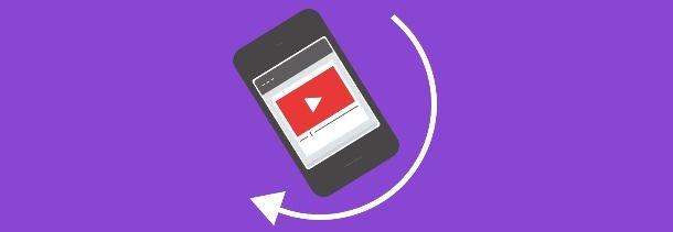 rotazione youtube