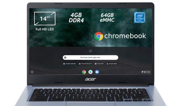 Display Chromebook