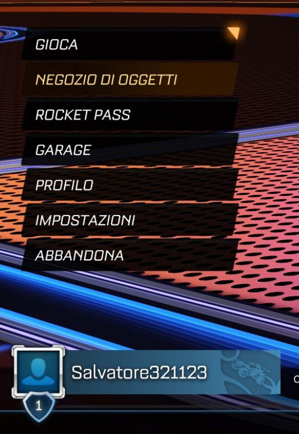 Rocket League Nome PC