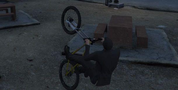 Come impennare su GTA 5 PC