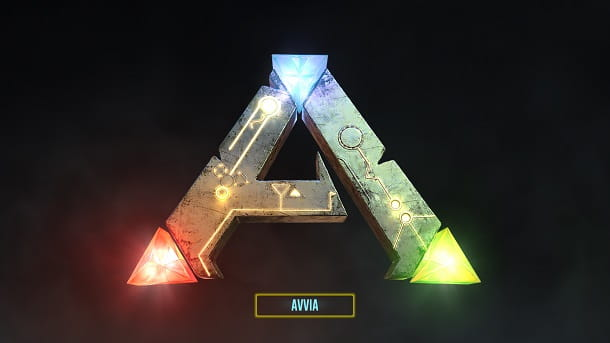 Avvia ARK console