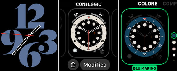 Cambiare quadrante Apple Watch