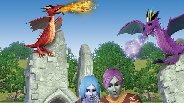 Dragon Valley The Sims 3 espansione