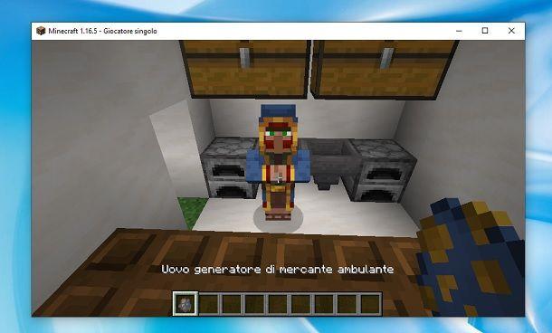 Mercante ambulante Minecraft