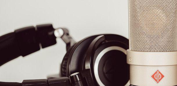 microfono e cuffia