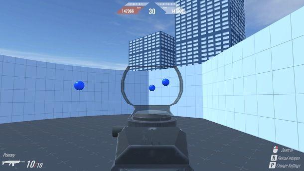 Bounce Ball Allenarsi Mira Fortnite PC