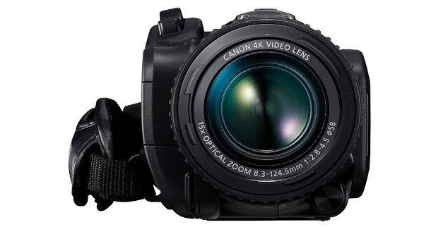 Obiettivo con zoom videocamera 4K