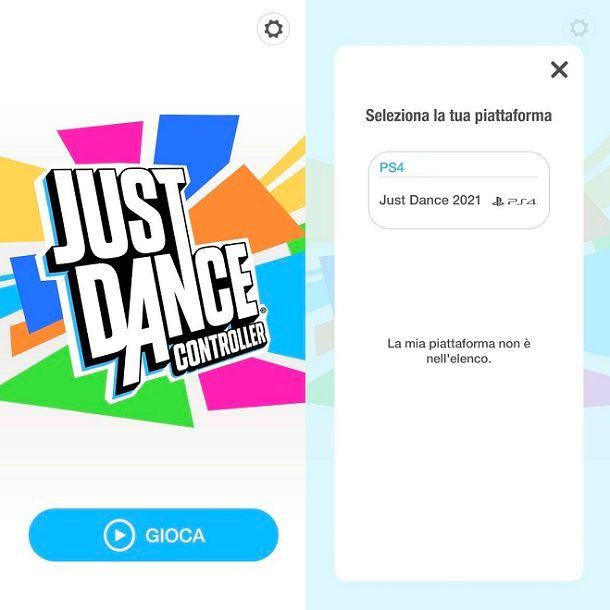 Just Dance Controller App