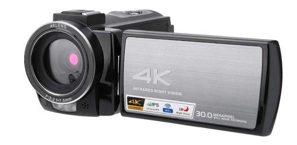 Videocamera 4k frontale