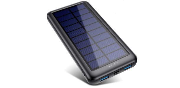 QTShine power bank solare