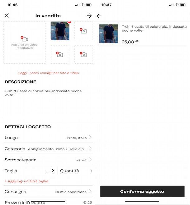Come vendere abbigliamento online