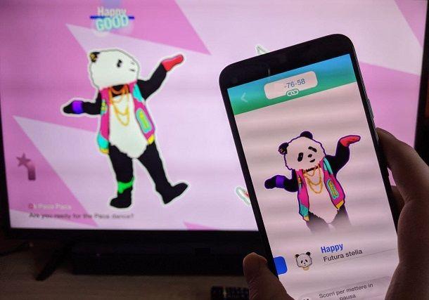 Partita Just Dance smartphone