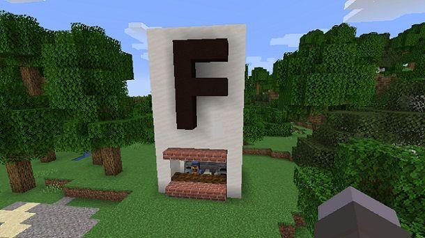 Negozio terminato Minecraft