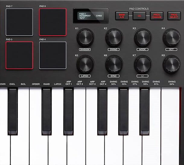 Controller tastiera MIDI
