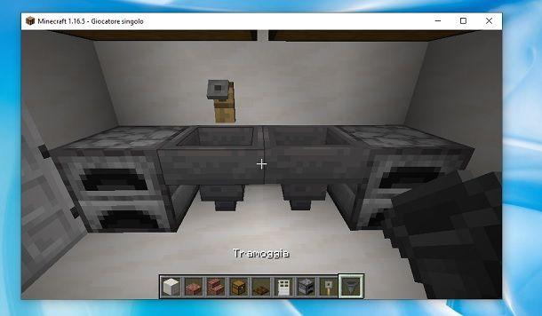 Tramoggia Minecraft