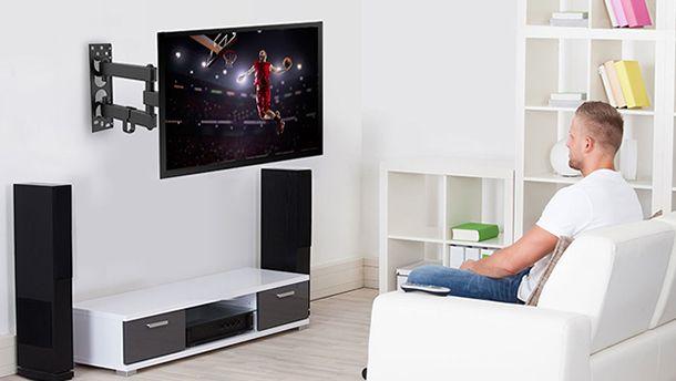staffa snodata per tv a parete