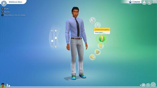 Modificare Sim The Sims 4 Xbox