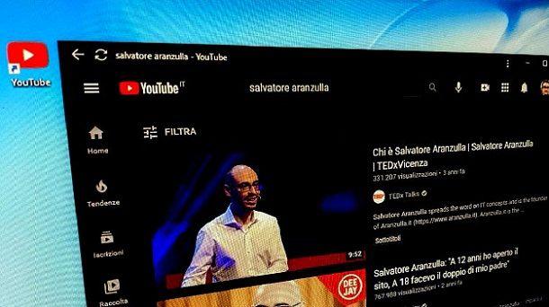 Icona YouTube PC