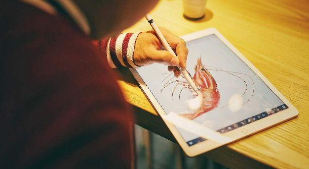 tablet digital art