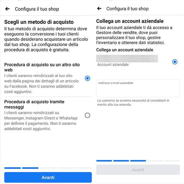 Come creare una vetrina su Facebook da smartphone