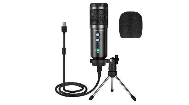 microfono a condensatore USB
