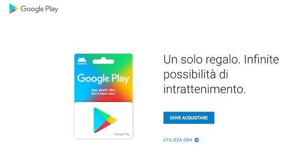 Carta Google Play