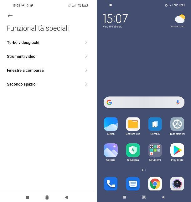 Secondo spazio Xiaomi