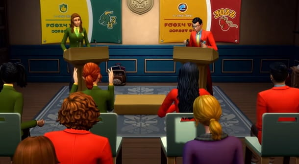 Vita Universitaria The Sims 4