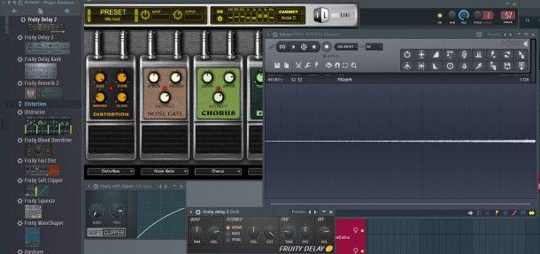 schermata plugin FL Studio
