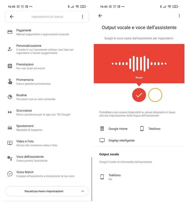 Come cambiare voce all'Assistente Google