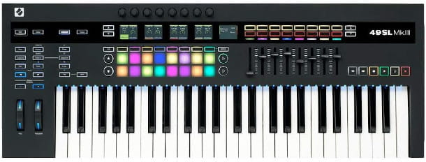 Tastier MIDI Novation 49SL