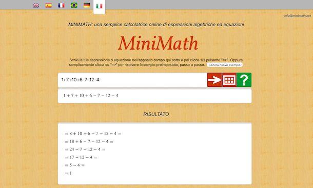 Mini Math