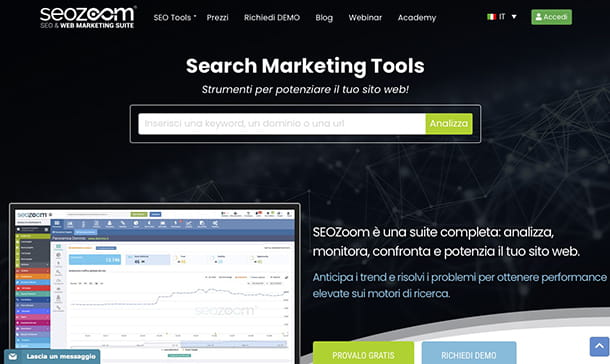 Come fare link building con SEOZoom