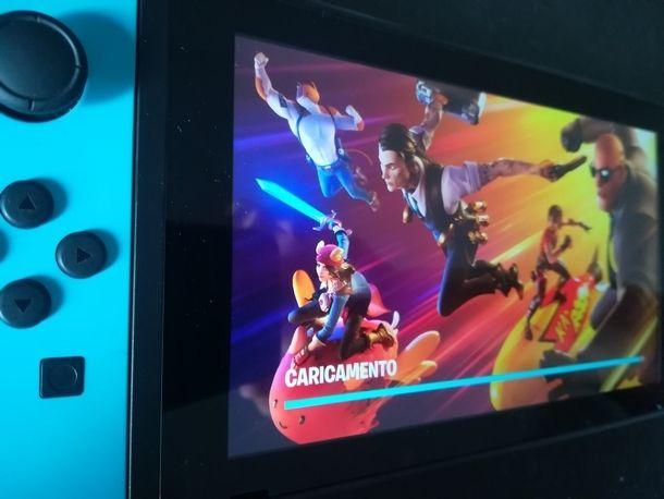 Abilitare l'accesso con 2FA su Fortnite per Nintendo Switch