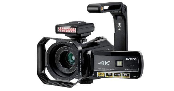 HDR AC3 ORDRO videocamera 4K