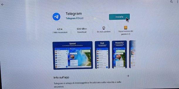 App Telegram Android TV Box