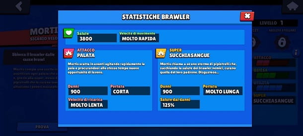 Statistiche Mortis Brawl Stars