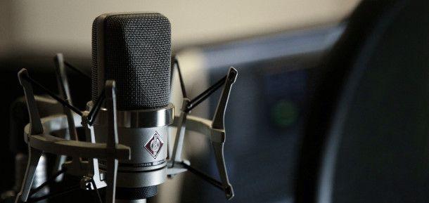 microfono per realizzare una demo