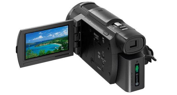 retro videocamera 4K