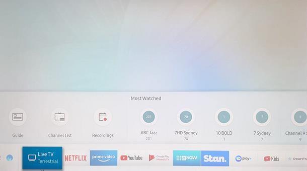 Come registrare programmi su Smart TV Samsung