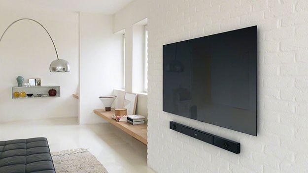 come montare tv sul muro