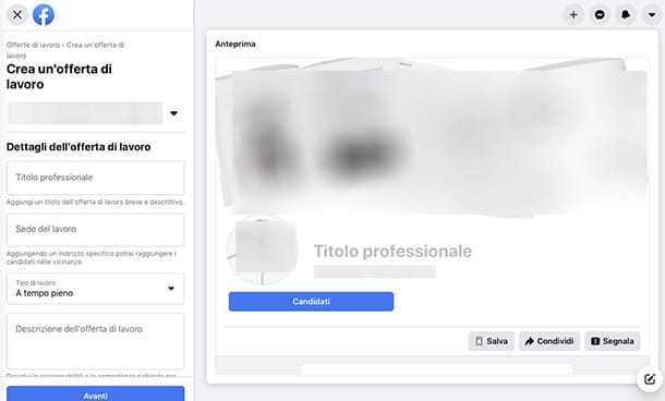 Siti per ricerca personale Facebook
