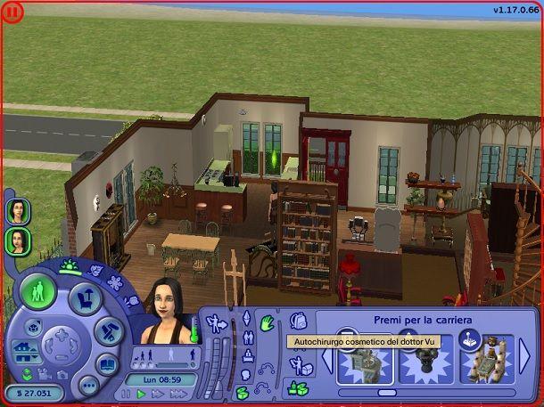 Autochirurgo cosmetico del Dottor Vu The Sims 2