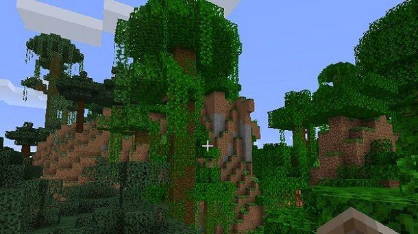 Giungla Minecraft
