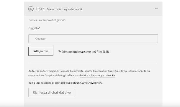 Chat EA