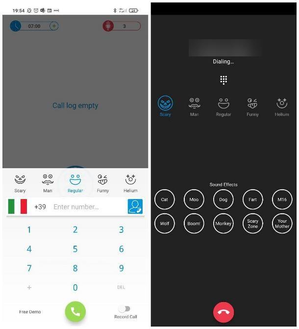 Come modificare la voce in chiamata: smartphone